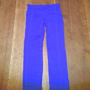 Athlete capris.  Cobalt blue.  Size XS.